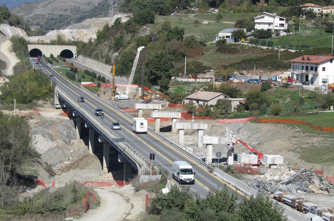 Autostrada A3 Salerno-Reggio Calabria – lavori di ammodernamento  e adeguamento al tipo 1/A delle norme CNR/80 dal km139+000 al km 148+000