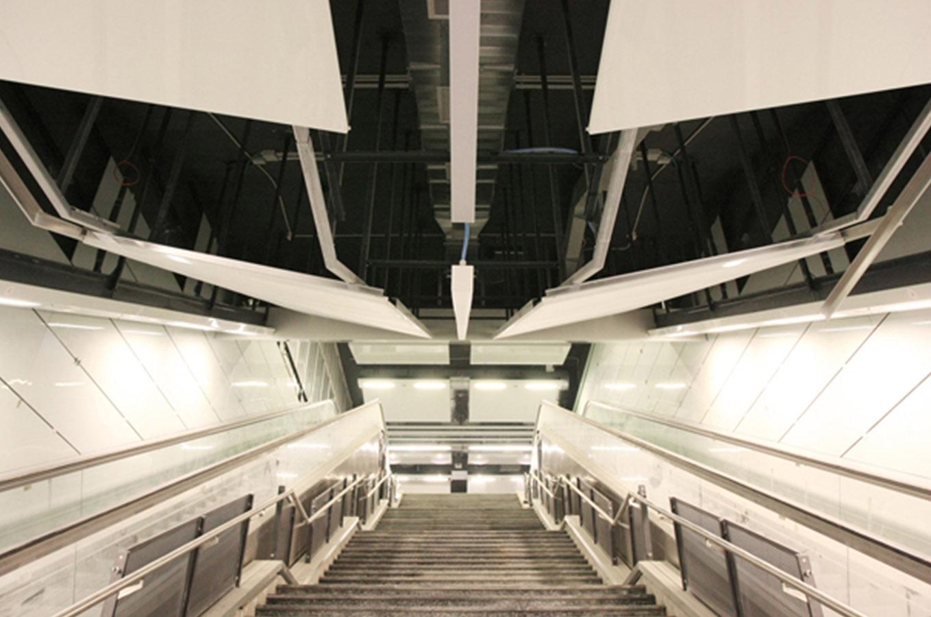 METROPOLITANA DI ROMA Linea C – Stazione Alessandrino